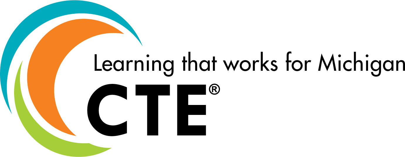CTE Logo: Learning that works for Michigan